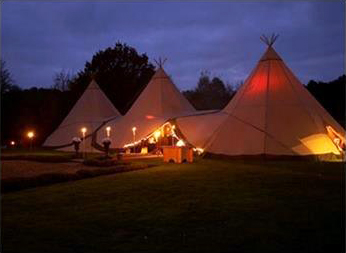 tipi camp bew